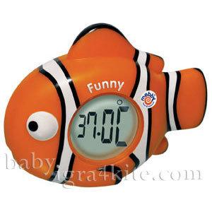 Mebby - Термометър-часовник Риба