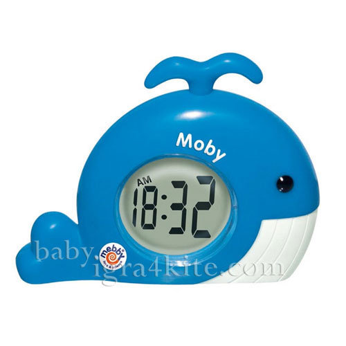 Mebby - Термометър-часовник Кит
