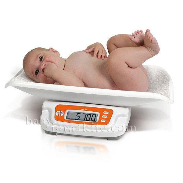 Mebby - Кантар цифров DIGITAL SCALE BABY & CHILD 2