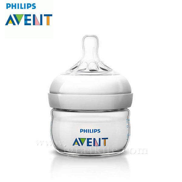 Philips AVENT - Шише за хранене Natural 60ml PP 0437