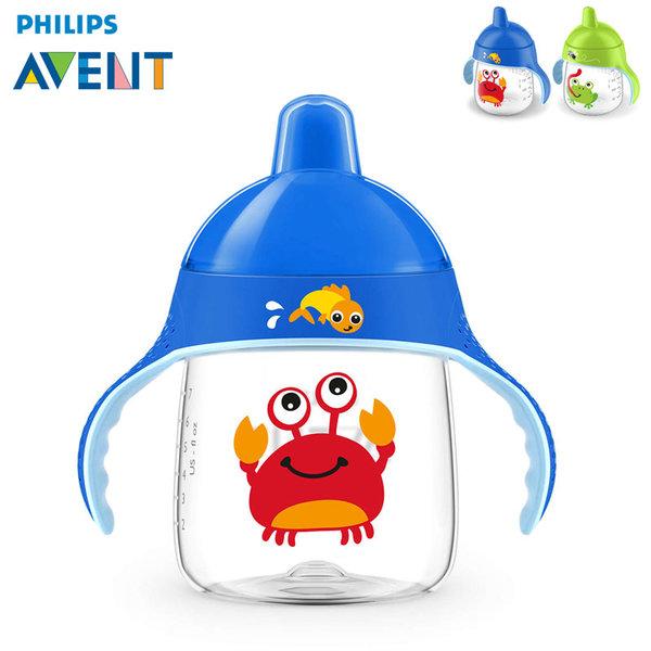 Philips AVENT - Неразливаща се чаша с твърд накрайник 260мл 12м+ 0487 Раче