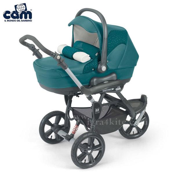 Cam - Модулна количка CORTINA X3 TRIS EVOLUTION 891/521