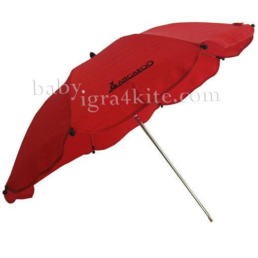 Cangaroo - Чадърче за детска количка Red 100800