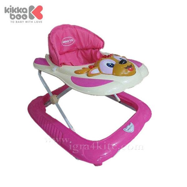 Kikka Boo - Проходилка Deer Pink 31005030012