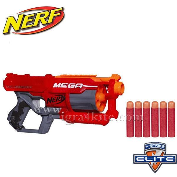 Hasbro Nerf  - Нърф Елит Бластер Мега Cycloneshock a9353