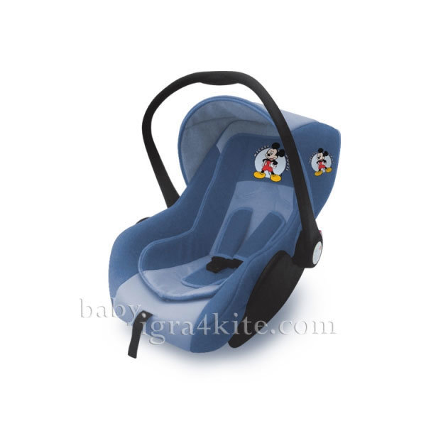 Disney baby - Столче за кола Lifesaver Mickey Blue