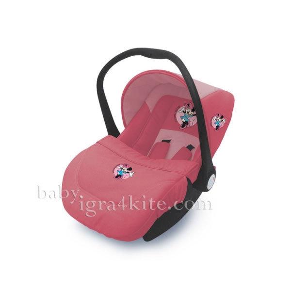 Disney baby - Столче за кола Lifesaver Minnie Pink