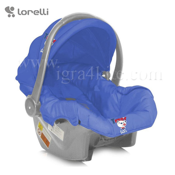 Lorelli - Стол за кола BODYGUARD FOXY Blue Soccer (0-13kg) 100706515