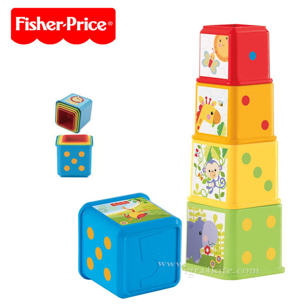 Fisher Price - Забавни кофички за сортиране cdc52