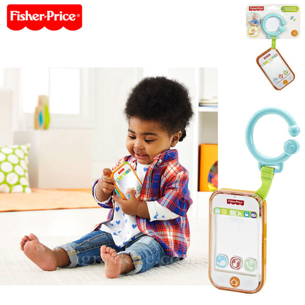 Fisher Price - Музикален смартфон с огледало dfp50/dpk28