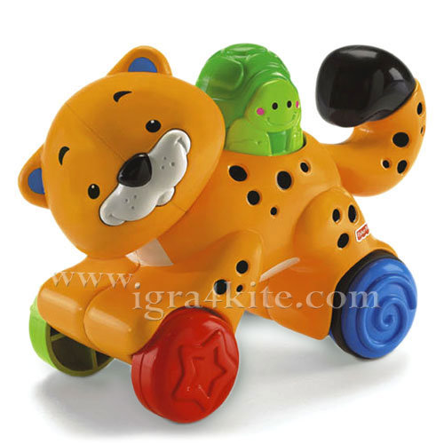 Fisher Price - Забавен Леопард Press & Go N8160