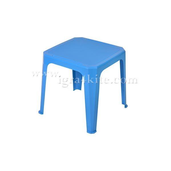 Детска маса светло синя 461252