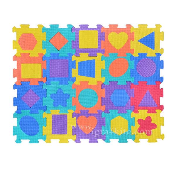 Мек килим пъзел - Фигури - 20 части 116135