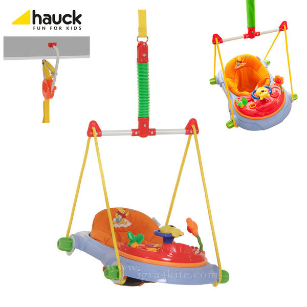 Disney Hauck - Бънджи Jump Deluxe Disney Мечо Пух 645055