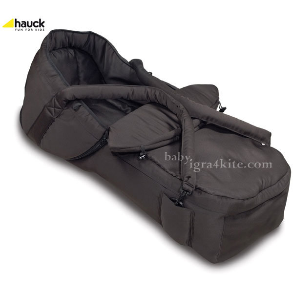 Hauck - Портбебе 2в1 Black 530023