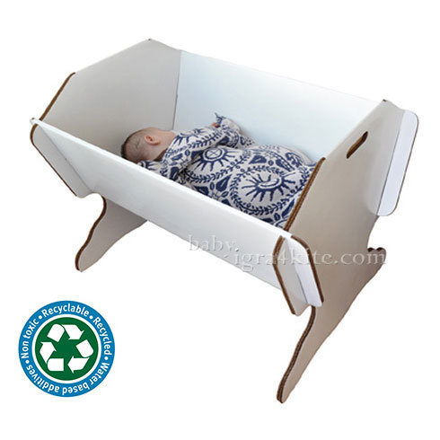 Green Lullaby - Бебешка еко люлка Eco Cradle 7001