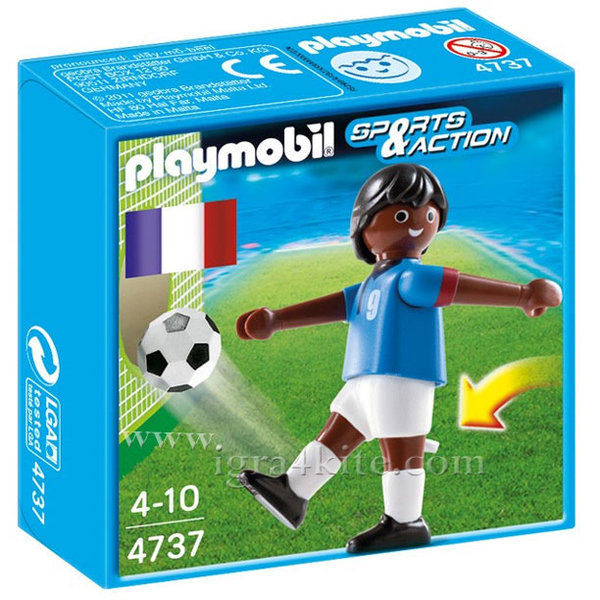 Playmobil - Футболист Франция 4737