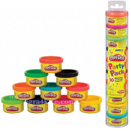 Playdoh - Комплект 10 цвята пластелини 22037