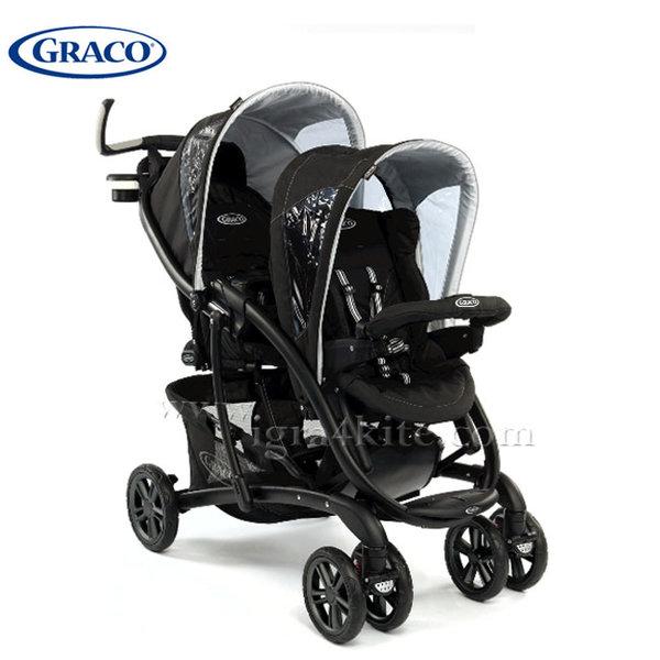 Graco - Бебешка количка за близнаци Quatro Tour Duo Sport Luxe G6K90SLXU
