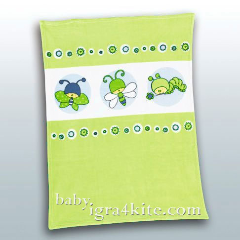 "Herding - Бебешко одеяло FYNN ""Пеперудка"""