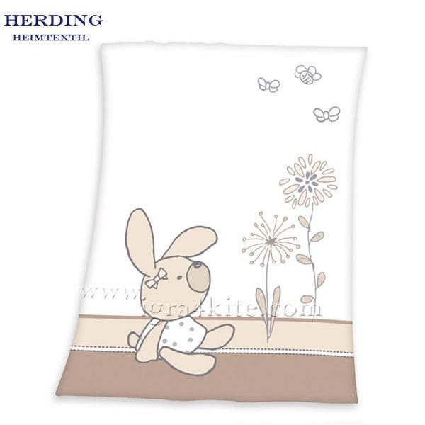 Herding - Бебешко одеяло Зайчето Луис