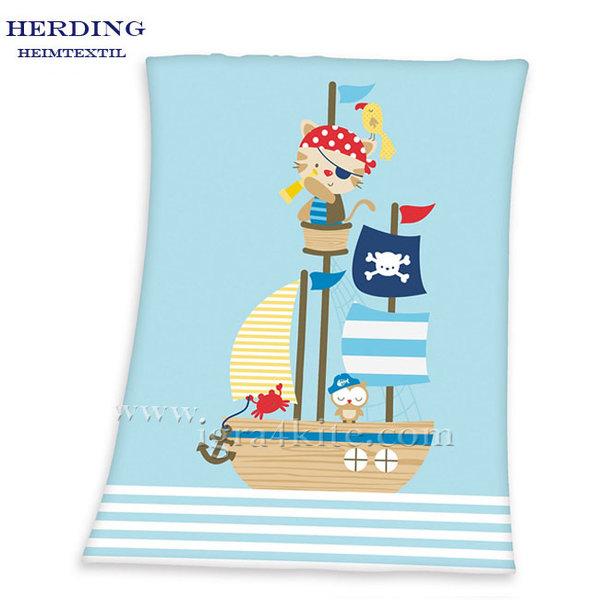 Herding - Бебешко одеяло Малкият пират
