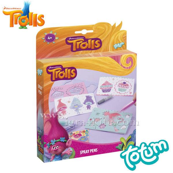 Totum Trolls - Направи Тролчета със спрей писалки 770041