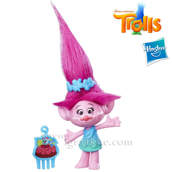 Trolls - Мини фигурка Тролче Poppy b6555