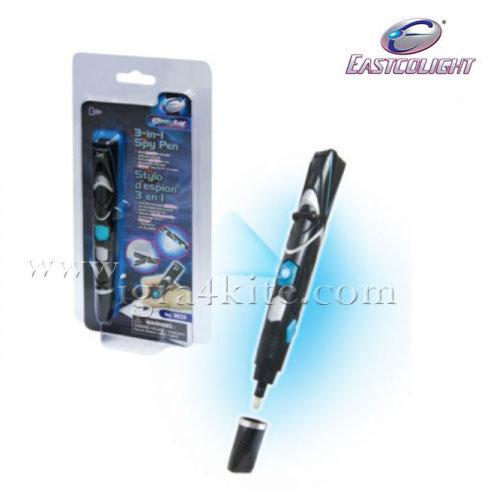 Eascolight - Шпионска химикалка 3в1 9829