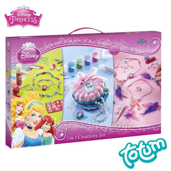 Totum Disney Princess - креативен комплект Дисни Принцеси 041677