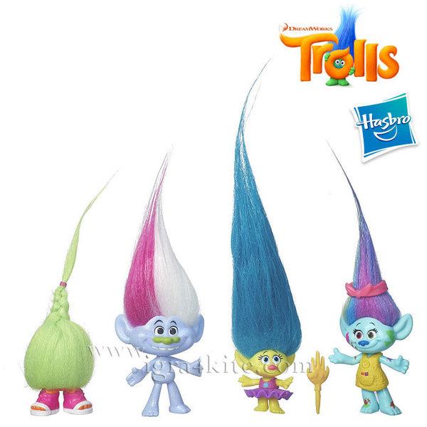 Trolls - Игрален комплект Тролчета 4бр b6557
