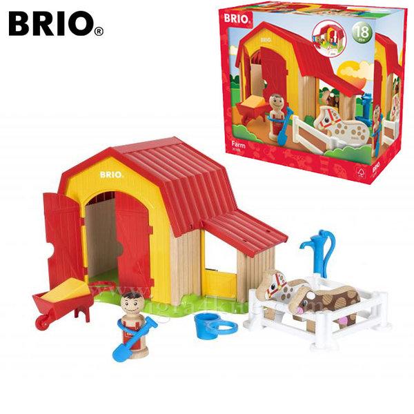 Brio - Дървена играчка Ферма 30398