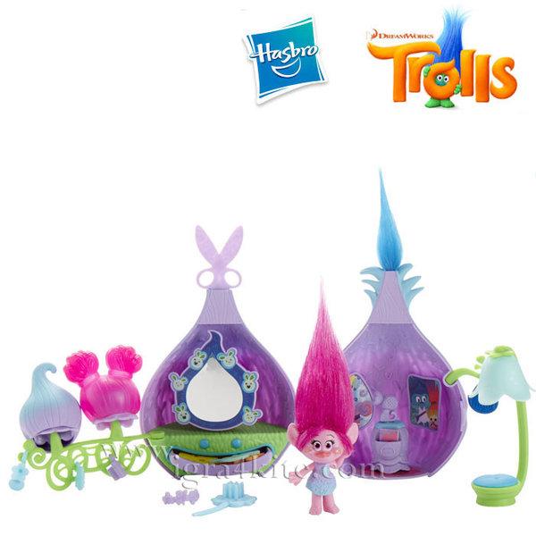 Trolls - Игрален комплект Тролче Poppy с аксесоари b6559