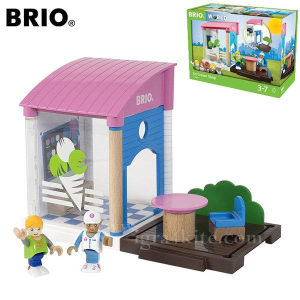 Brio Village - Дървен магазин за сладолед 33944