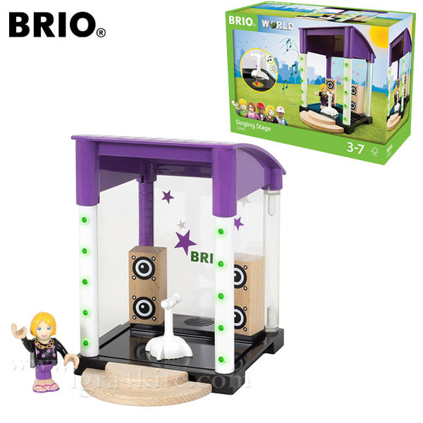 Brio Village - Дървена музикална сцена 33945