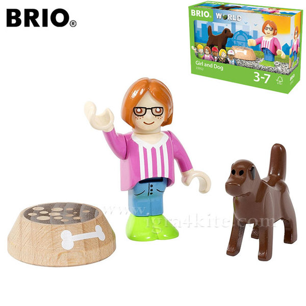 Brio Village - Момиченце с куче 33952