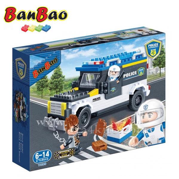 BanBao - Строител 6+ Полицейски Хамър 7005