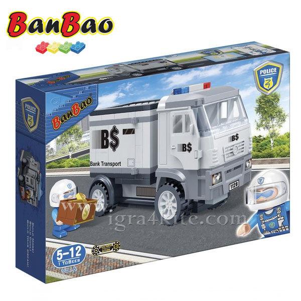 BanBao - Строител 5+ Камион за превозване на пари  7016