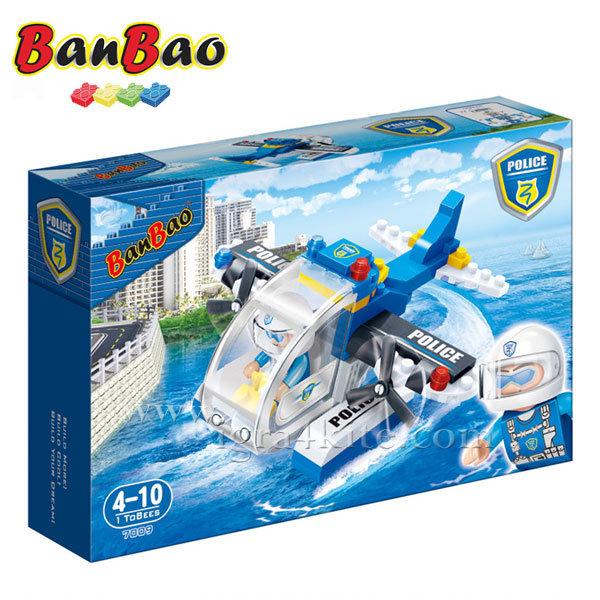 BanBao - Строител 4+ Полицейски хеликоптер 7009