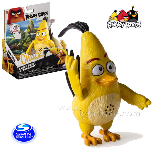 Angry Birds - Фигура със звук Енгри бърдс Chuck 6027803