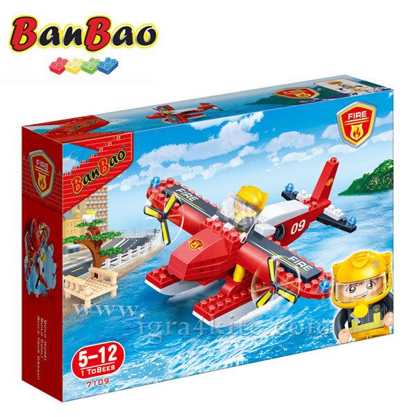 BanBao - Строител 5+ Пожарен самолет 7109