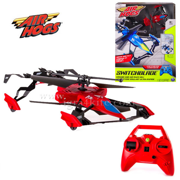 Air Hogs - Левитиращо устройство Switchblade red 6027811