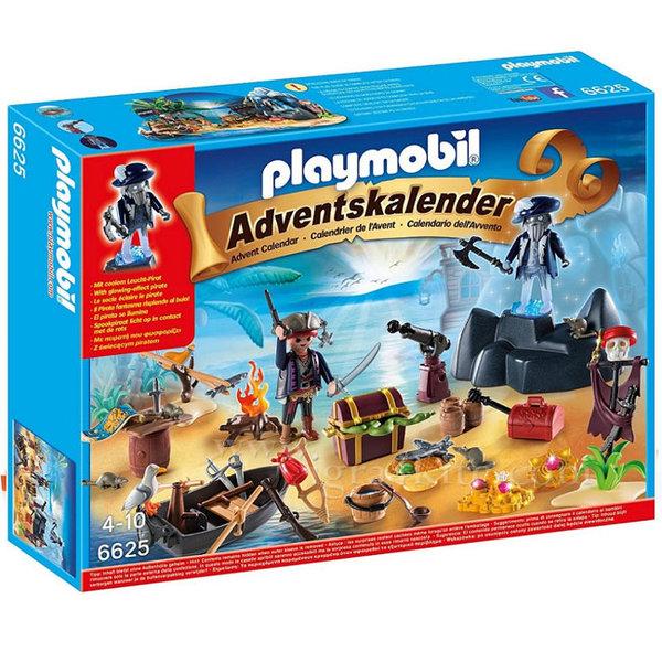 Playmobil - Коледен календар Пиратски остров на съкровищата 6625