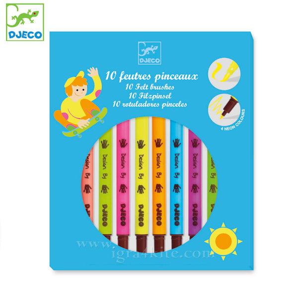 Djeco - Флумастери в ярки цветове 08799