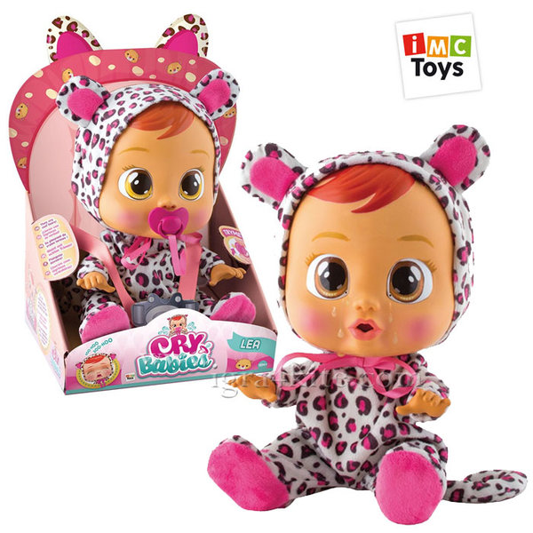 IMC Toys - Плачеща кукла Crybabies Lea 10345/10574