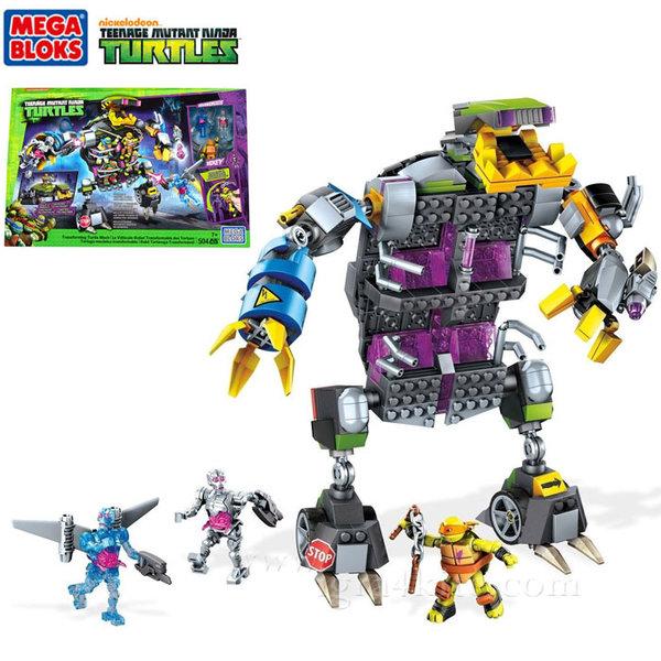 Mega Bloks TMNT - Забавен строител Робот злодей dpf66
