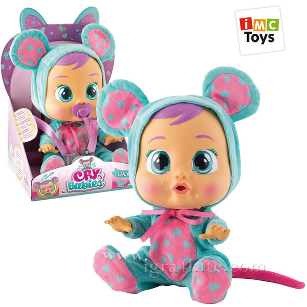IMC Toys - Плачеща кукла Crybabies Lala 10345/10581