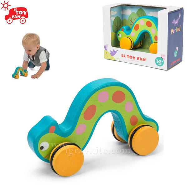 Le Toy Van - Дървенa гъсеница на колела pl034