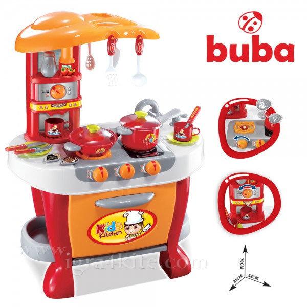 Buba - Детска кухня Little Chef със светлинни и звукови ефекти fs731
