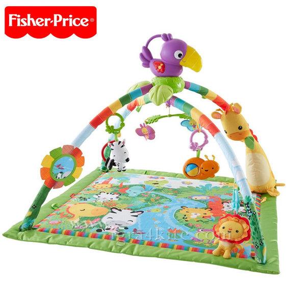 Fisher Price - Бебешка активна гимнастика Папагал DFP08